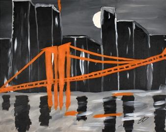 Sylvain Boisjoly - Megapolis Acrylic on Canvas, Paintings