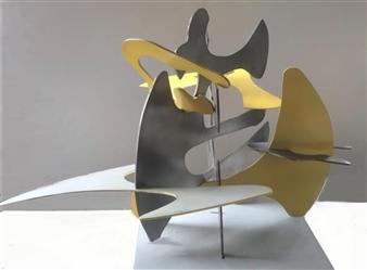 Joanne Syrop - Zoom Steel, Sculpture