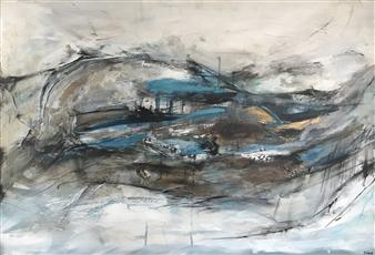 Katja Yoon - Tempting Destiny Acrylic on Canvas, Paintings