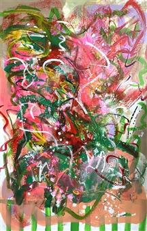 Katja van den Bogaert Anna K Art - Intuitive Nature Acrylic on Canvas, Paintings