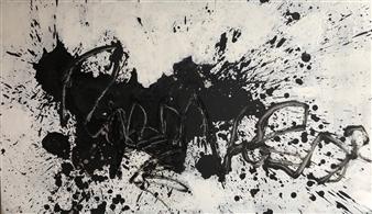 Marek Wasylewicz - Rev 8 Oil on Fiber Board, Paintings