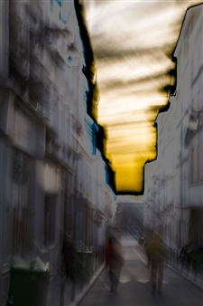Luiz Todeschi - Streets of Paris Archival Pigment Print, Photography