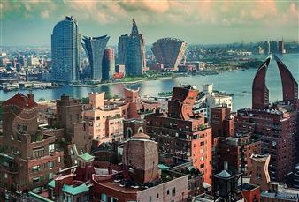 Shifra Levyathan - Future Cityscape 17 Digital C-Print