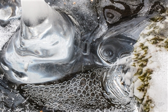 Lliam Greguez - Bubble Crush Metal Sublimated Print, Photography