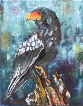 Pamela Sullivan - Eagle Eye Oil on Canvas, Paintings