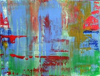 Marianne Durach - 16/11 T Acrylic on Canvas, Paintings