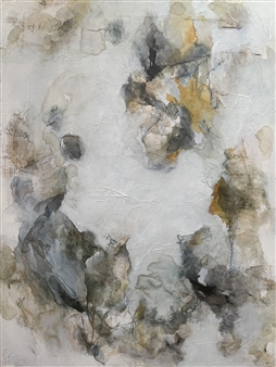 Alissa Van Atta - Dancing with Stitches Acrylic on Canvas, Paintings