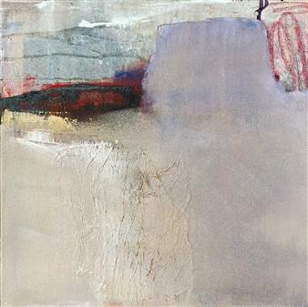 Melissa Pacheco - Untitled 6 Acrylic & Mixed Media on Canvas, Mixed Media