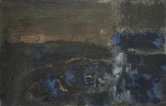 Israel Feldmann - Spirit of Life Pigment on Plywood, Paintings