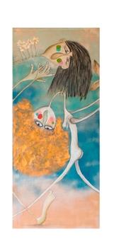 Mar De Redin - La Suerte en el Culo_B3 Acrylic & Mixed Media on Linen Canvas, Mixed Media