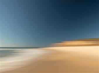 Gottfried Roemer - Hamptons Ditch Plains Beach Photograph on Aluminum, Photography