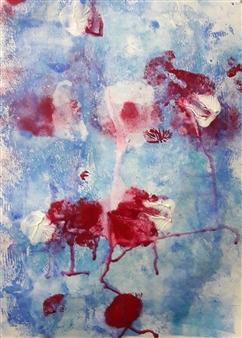 Claudia Mini - A Corrida do Coração Acrylic on Paper, Paintings
