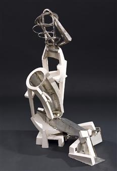 Attila Mata - Genesis Acrystal, Stainless Steel, Sculpture