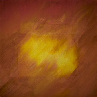 George Oommen - Sacred Landscape Within You 32 Acrylic on Canvas, Paintings