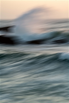 "Renzo Sanchez-Silva - ""C"" Wave Digital C-Print on Aluminum, Photography"