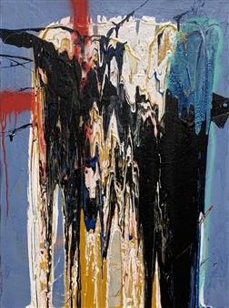 Tyler Santangelo - You Acrylic & Spraypaint on Canvas, Paintings