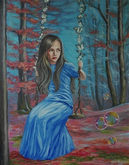 Helena Zyryanova - Transformation Oil on Canvas, Paintings