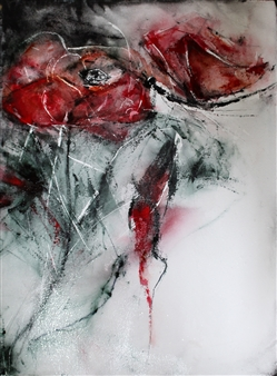 Dana Ingesson - Mesmerizing Beauty Watercolor on Paper, Paintings