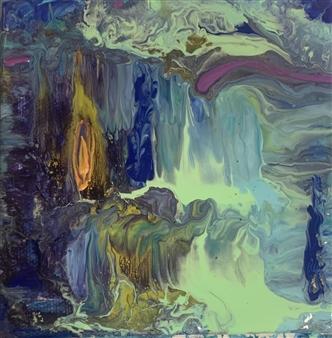Jodi DeCrenza - River of Souls Acrylic on Canvas, Paintings