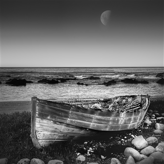 Sam Barrow - Boat Photograph on Fine Art Paper, Photography