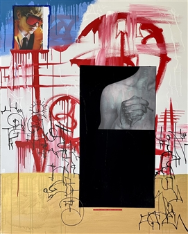William Atkinson - It's Not for Everyone Mixed Media on Canvas, Mixed Media