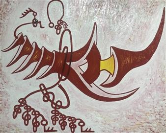 Jose Pedro Alonso Miralles - La Pujanza de la Vida Oil on Canvas, Paintings