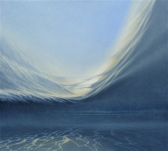 Bekir Smolski - Oceans Oil on Canvas, Paintings