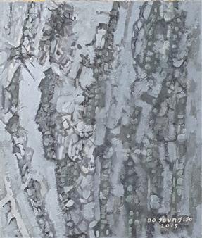 Soilart Jo-DoJoong - Knar 2 Soil on Canvas, Paintings