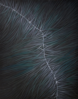 Samuel Lehikoinen - Neural Pathways Oil on Board, Paintings