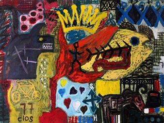 Carlos Arango (clos) - Holocaust Oil on Canvas, Paintings