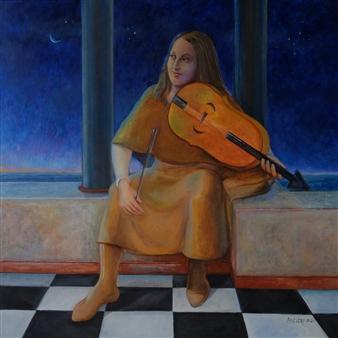 Blanca Severo - Juglar Oil on Canvas, Paintings