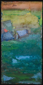 Ludwig Mannhalter - No. 11 Oil on Canvas, Paintings
