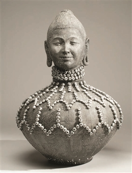 Susan Kadish - 6948 Stoneware, Sculpture