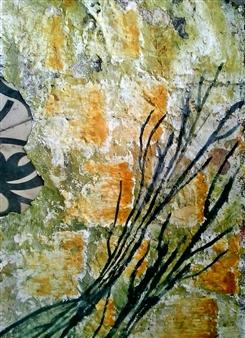 Luisa Vicente Isola - Naturaleza III Acrylic on Paper, Paintings