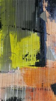 Vuce - Visus Oil on Metal, Paintings