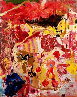Oliwia Biela - 59 to 1 Acrylic & Oil on Canvas, Paintings