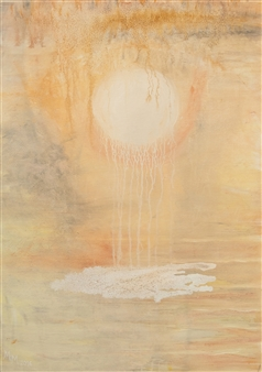 Marilyn MEM Miller - Overflow Acrylic on Canvas, Paintings