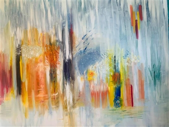 Jodi DeCrenza - The Reception Oil on Canvas, Paintings