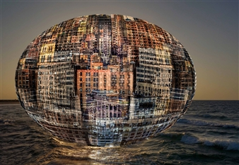 Shifra Levyathan - Floating City Digital C-Print, Photography