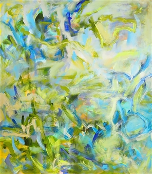 Sari Moilala - On Windy Days Acrylic on Canvas, Paintings