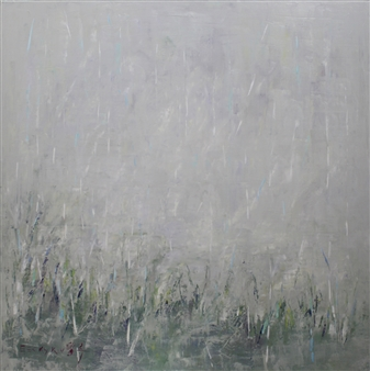 Becky Sungja Kim - Spring Rain Oil on Linen, Paintings