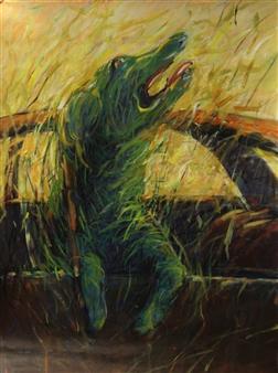 Jian Jun An - Missing Acrylic on Canvas, Paintings