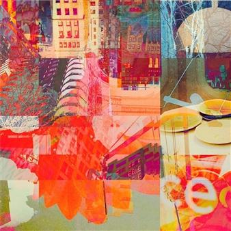 Stephanie A. Pitoy - Ala Carte, No. 1 Photo Collage, Photography