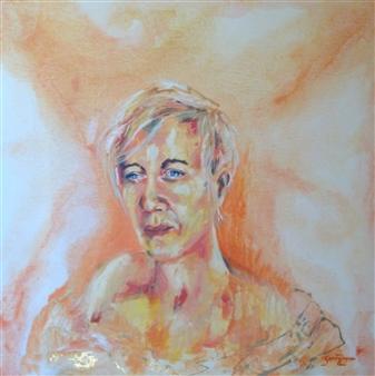 Grady Zeeman - Forgiveness is a Process Oil on Canvas, Paintings