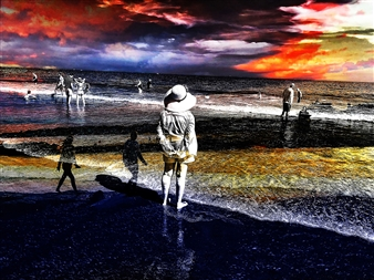 markpizzaArt - Memories of the Past Archival Pigment Print on Aluminum, Photography
