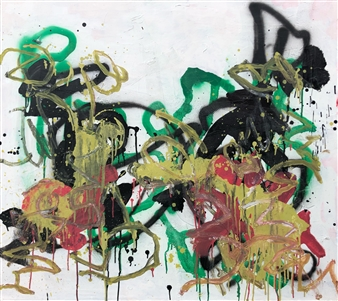 Marek Wasylewicz - Fri 1 Acrylic & Oil on Canvas, Paintings