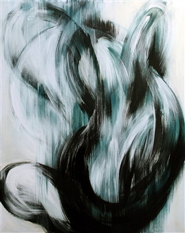 Noriyoshi Morimoto - With Respect to Area -Repose of soul-1 Acrylic on Canvas, Paintings