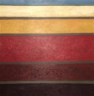 Merab Kardava - Feelings are in My Colors Oil on Canvas, Paintings