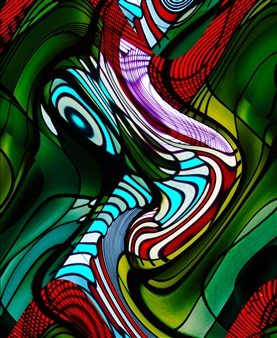 Howard Harris - Mindscape 6 Digital Print on Aluminum, Digital Art