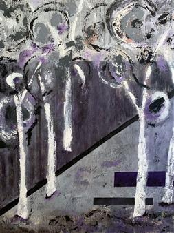 Marianne AuBuchon Devitt - Shadows Oil on Canvas, Paintings